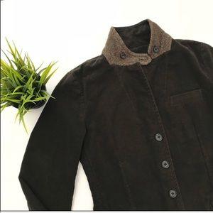 J. Crew Women's Jacket Blazer Brown Medium Petite